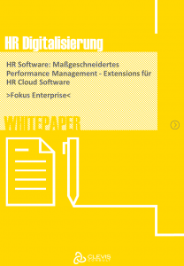 CLEVIS Whitepaper Grenzen von Standardlösungen – Extensions für HR Cloud Software