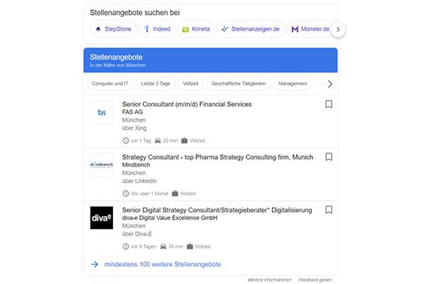 Google for Jobs: Was Sie beachten sollten   CLEVIS