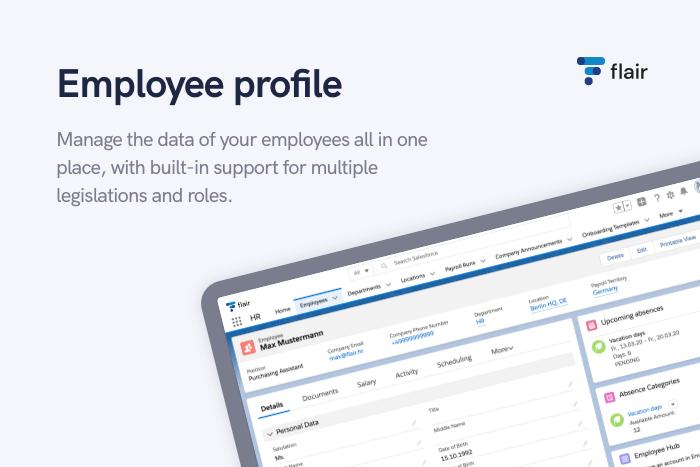 Employee Database - flair.hr GmbH