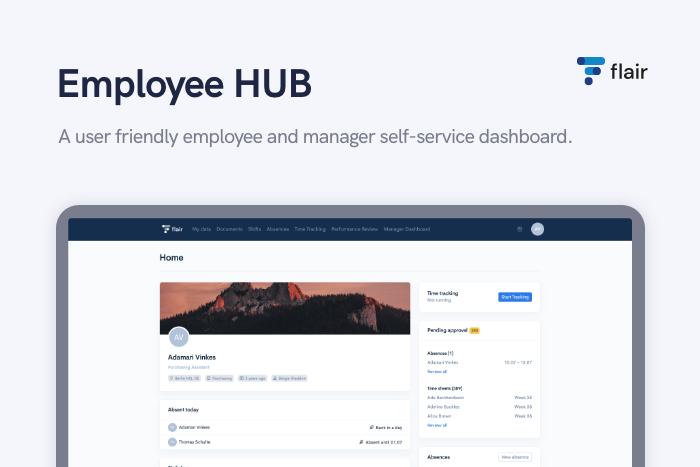 Employee HUB - flair.hr GmbH