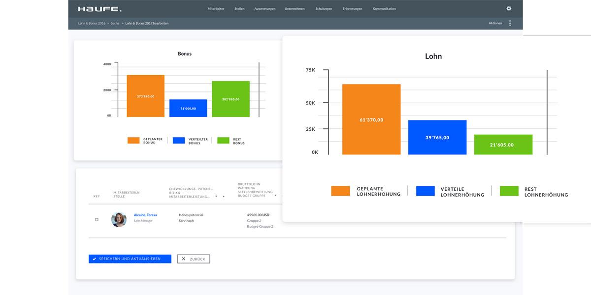 Haufe Talent Management - Wie sieht die Software aus