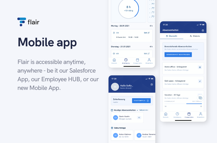 Mobile App - flair.hr GmbH