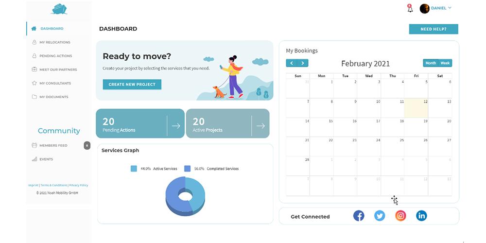 Noah Mobility GmbH - Wie sieht die Software aus