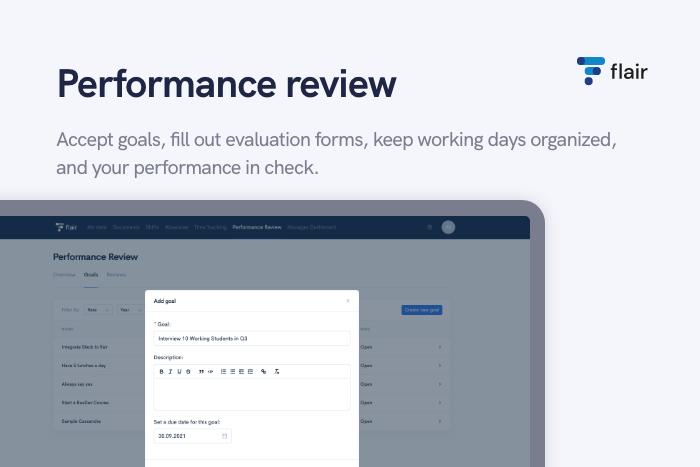 Performance Review - flair.hr GmbH