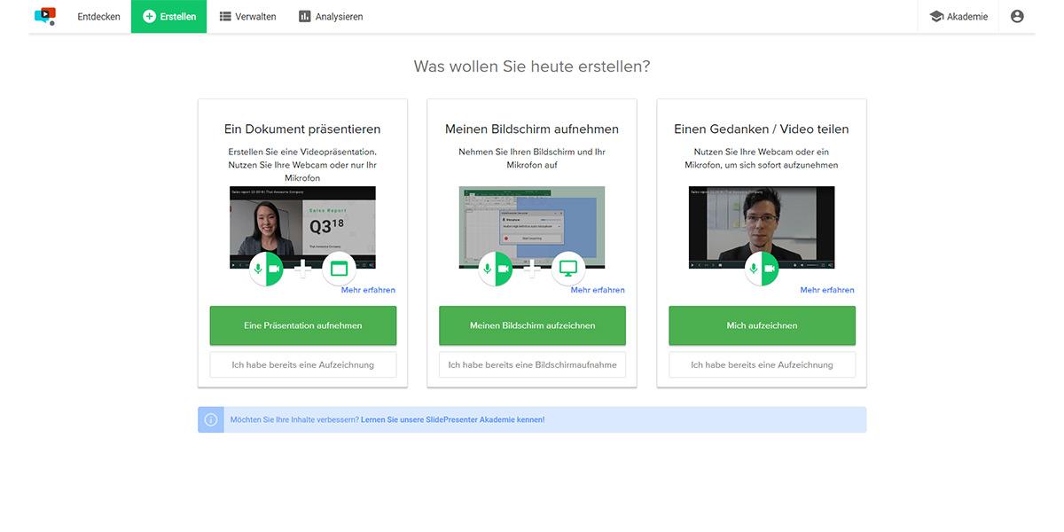 SlidePresenter GmbH - Wie sieht die Software aus