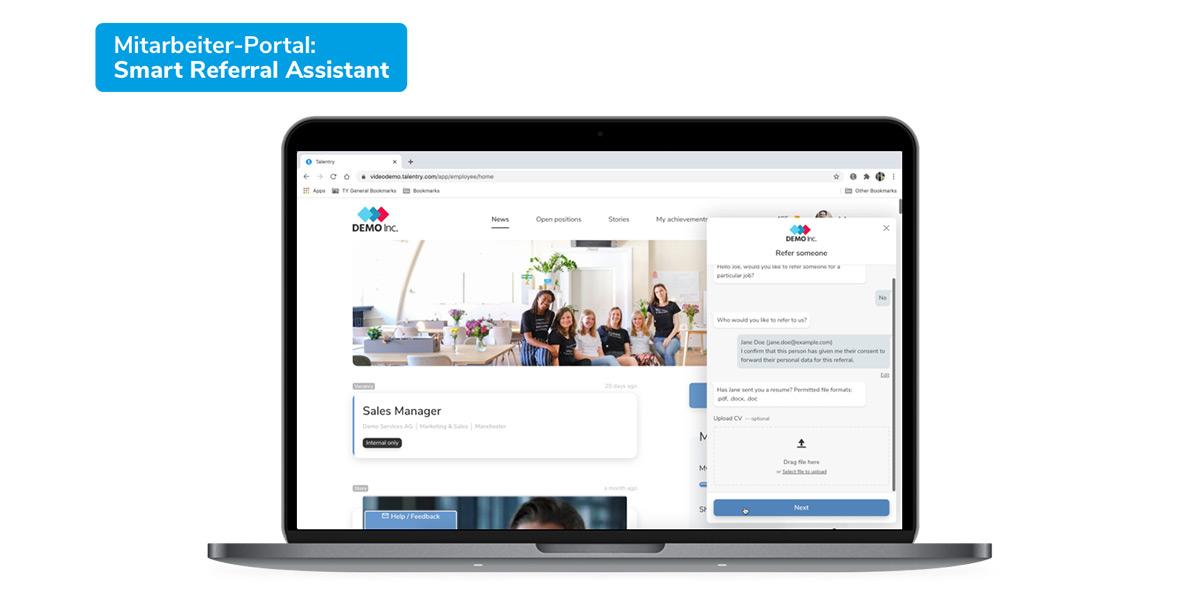 Talentry GmbH - Wie sieht die Software aus