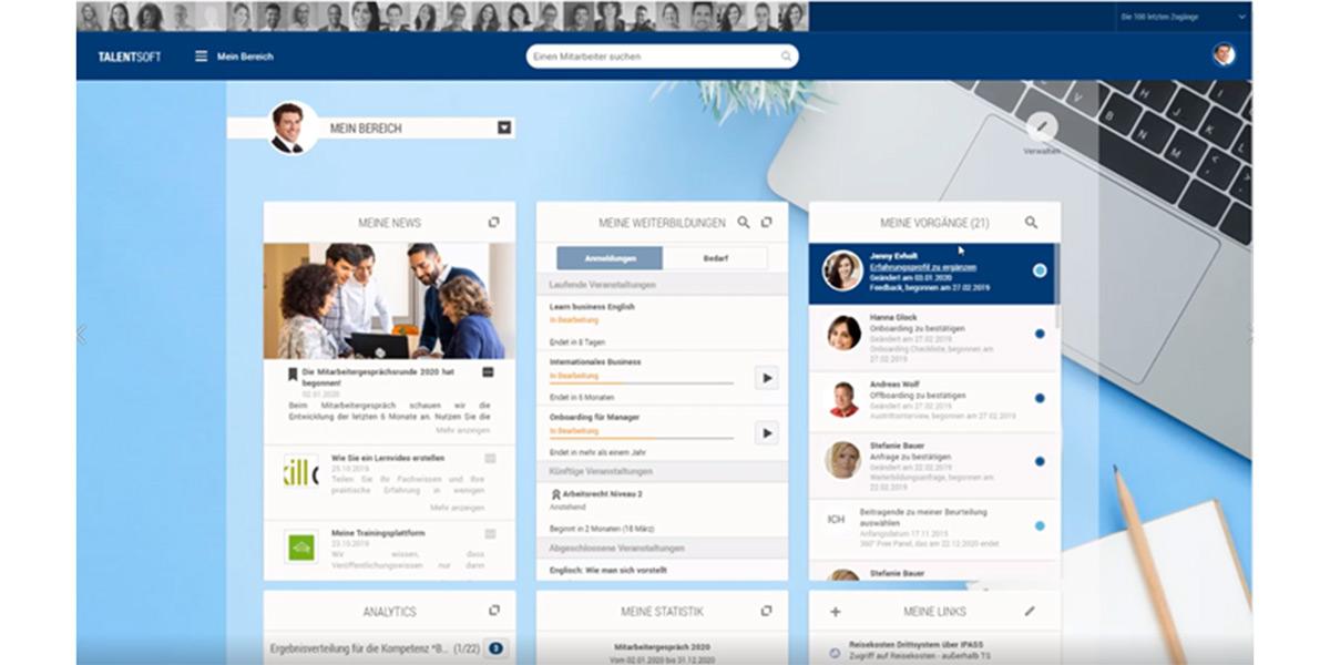 Talentsoft GmbH - Wie sieht die Software aus