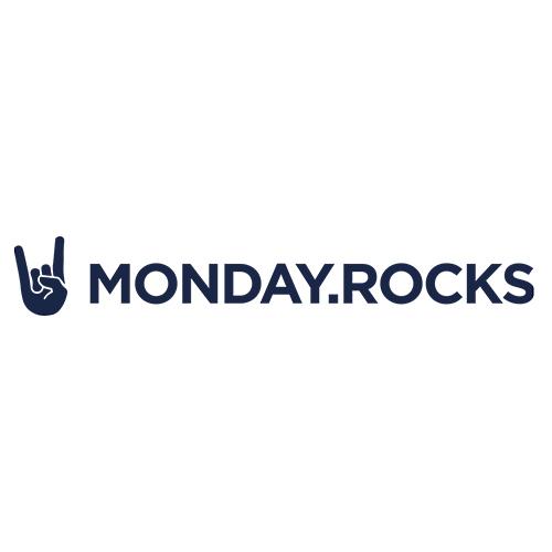 MONDAY ROCKS Logo - CLEVIS