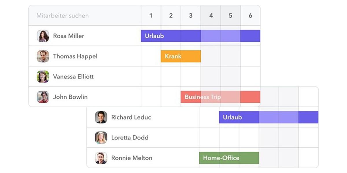 Factorial HR - Teamkalender