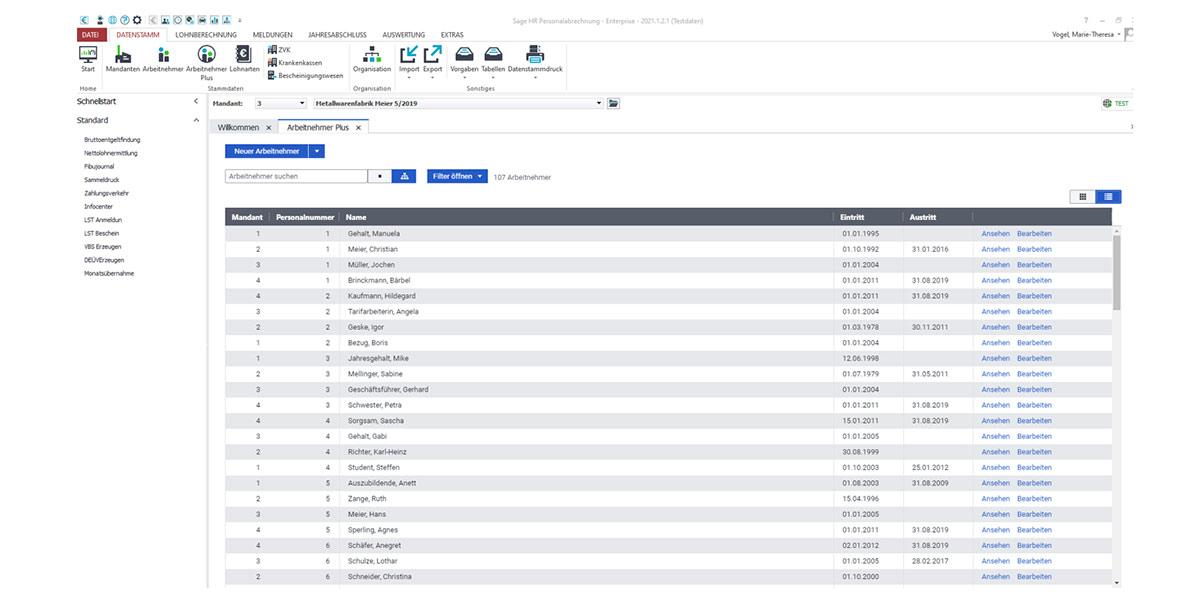 Sage HR Suite - HR Administrator