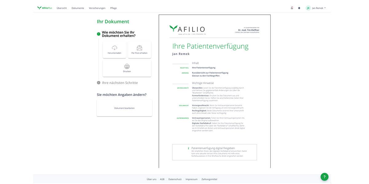 afilio - HR-Software - Anbieter